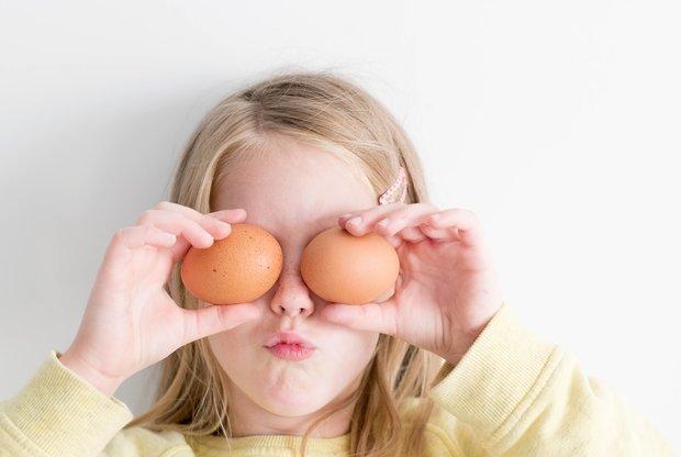 Сколько яиц можно давать ребенку? - слайд